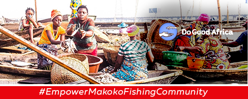 """Rich results when someone searches """"Makoko Fishing Community"""" """"Empower Fishing"""""""