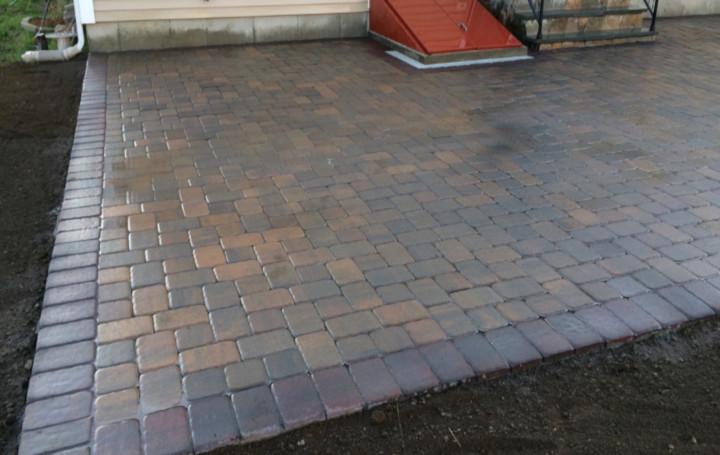 Patios Brick patios in Massachusetts