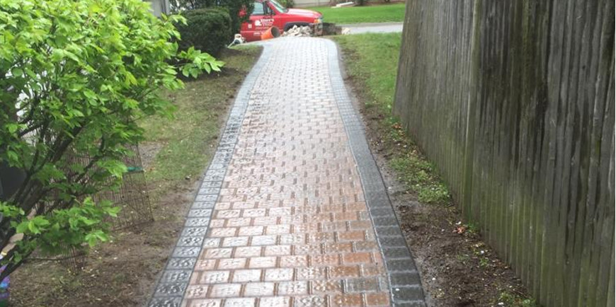 walkway masonry - 9