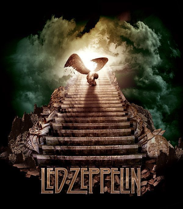 03 Led Zeppelin y su escalera al cielo