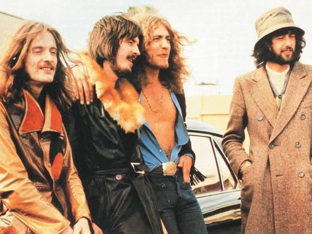led zeppelin band group color 5