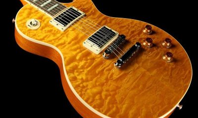 16863 Gibson Les Paul 2013 Quilt Trans Amber 130520639 1