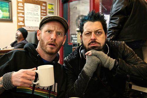 Corey Taylor and Director Rob Hall