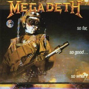 Megadeth So Far So Good So What Frontal