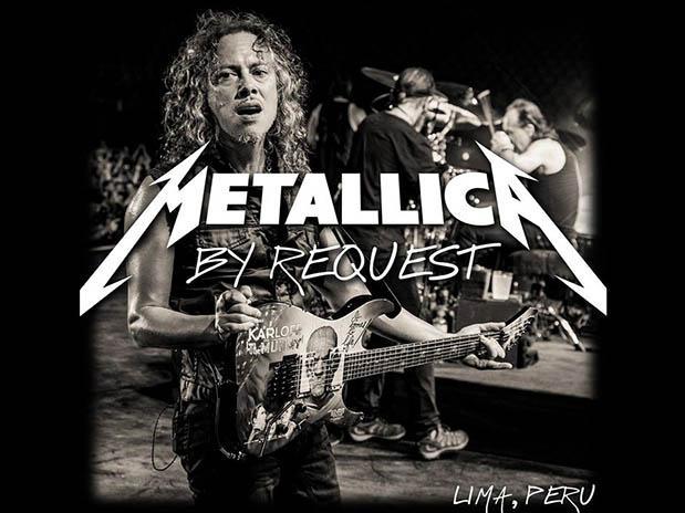 metallica audio concierto lima