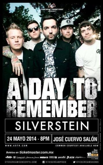 ADayToRemember Silverstein