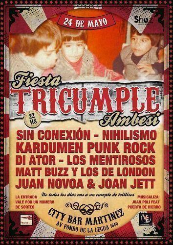 fiesta tricumple