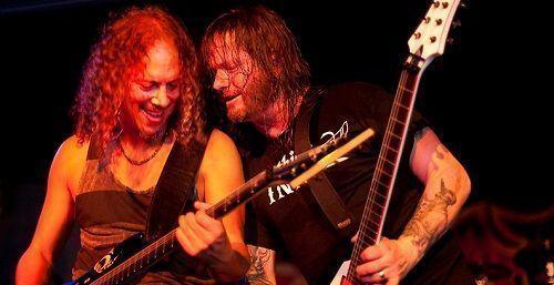 Kirk Hammett and Gary Holt