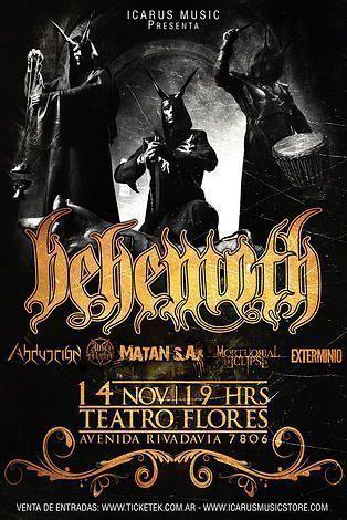 behemoth en argentina