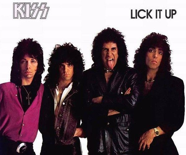 Kiss Lick It Up Frontal