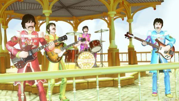 The Beatles Rock Band Sgt P