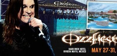 Ozzy Osbourne Ozzfiesta en México