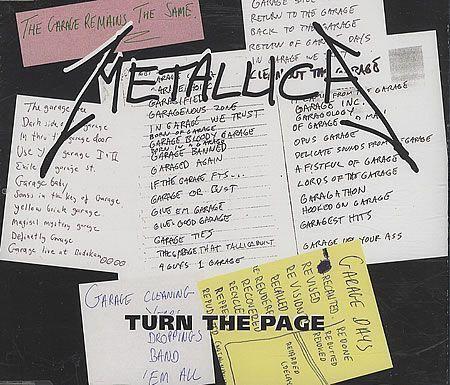 MetallicaTurn the Page