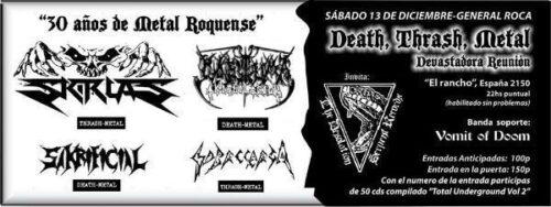 death thrash metal devastadora reunion 2 editar