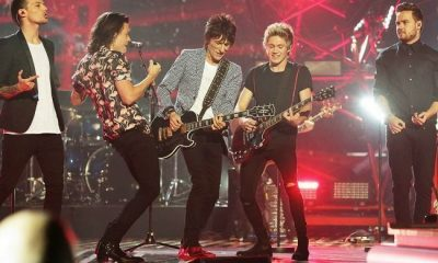 One Direction and Ronnie Wood
