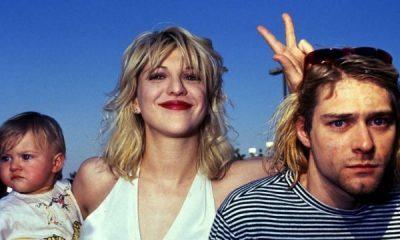 Kurt Cobain y Courtney Love