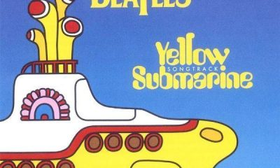 beatles yellow submarine songtrack cover