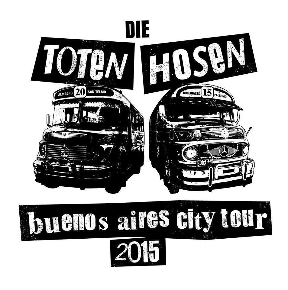 Die totem hosen tour argentina 2015