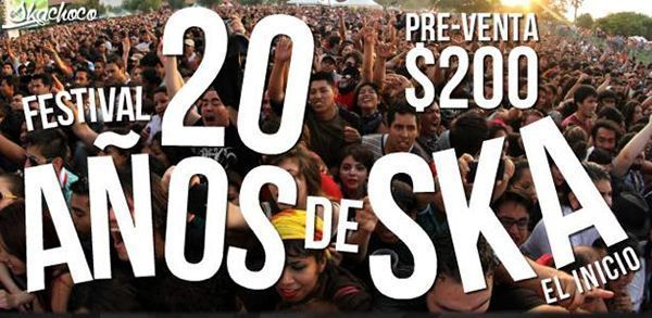 Foto Festival 20 años de ska