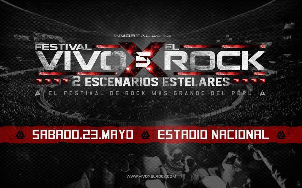vivo x el rock 5