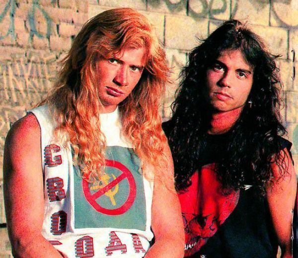 megadeth nick menza dave mustaine