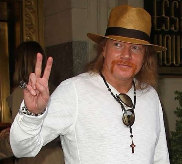 Axl Rose vs Presidente de Indonesia