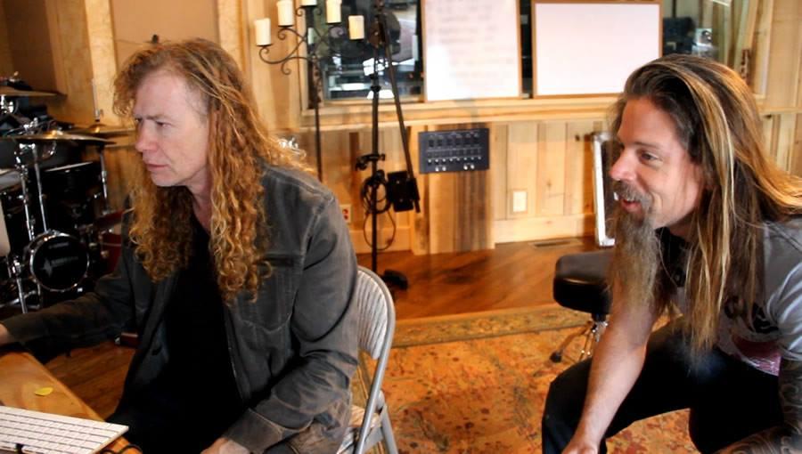 Megadeth en el estudio