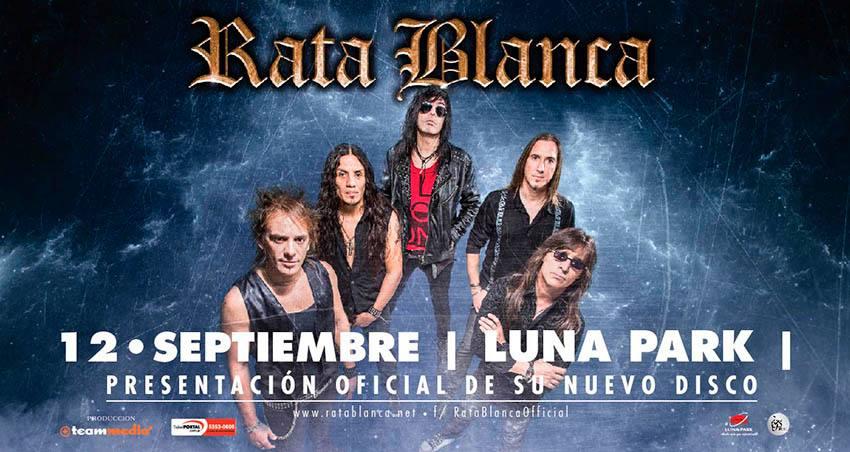 Rata Blanca Luna Park 2015