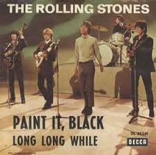 The Rollin Stones Paint It Black single