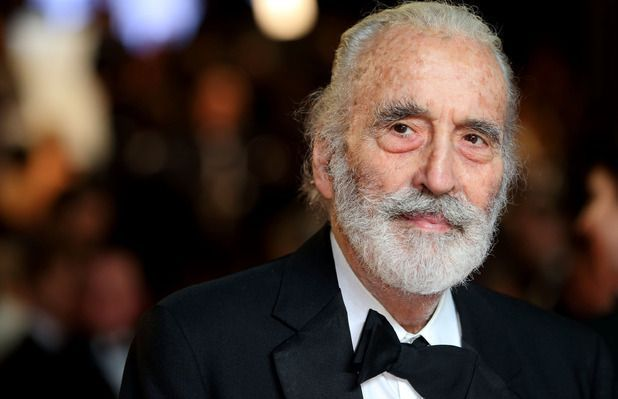 Christopher Lee Getty Images