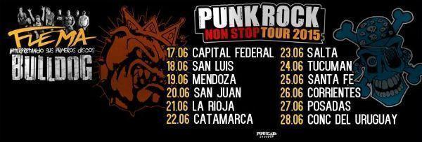 punk rock non stop tour 2015