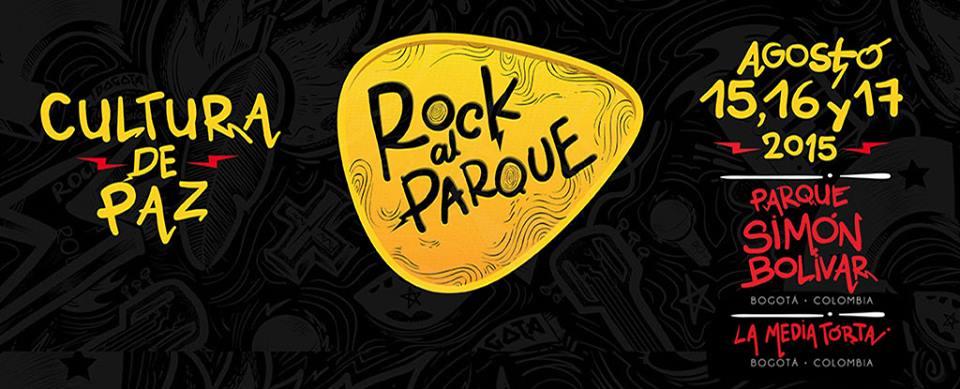 Rock al Parque 2015 (Imagen tomada de la página oficial del festival)