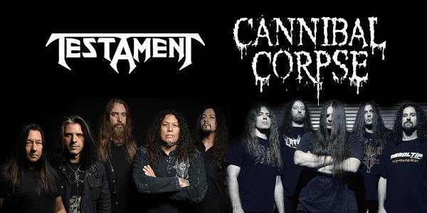 testament y cannibal corpse gira 2015