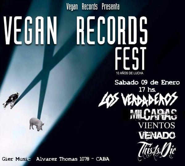 vegan records fest
