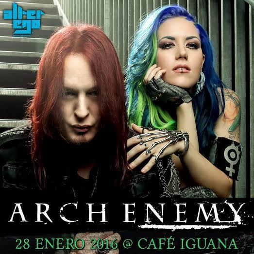 Arch Enemy Café Iguana