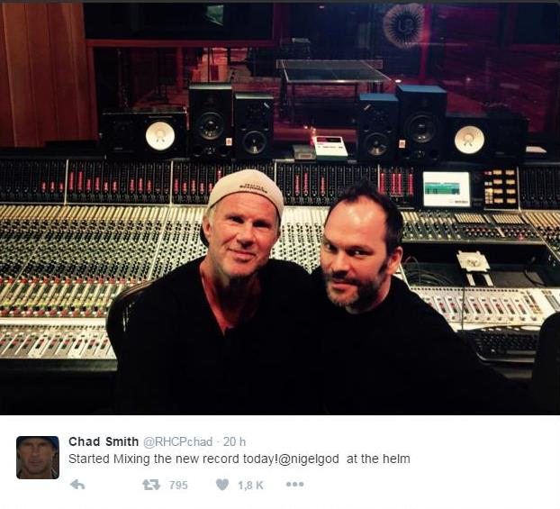 Chad Smith Twitter
