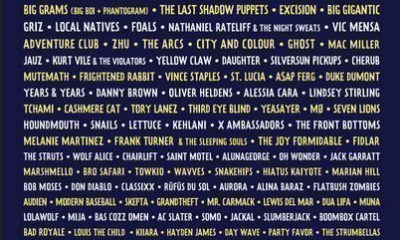 Lollapalooza Chicago 2016 LineUp