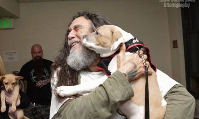 Tom Araya slayer puppy