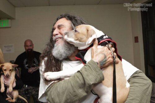 Tom Araya slayer puppy