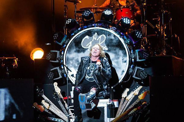 Guns N Roses foto OCESA cortesia Lulú Urdapilleta