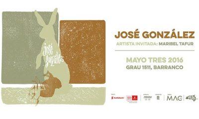 José González en Lima