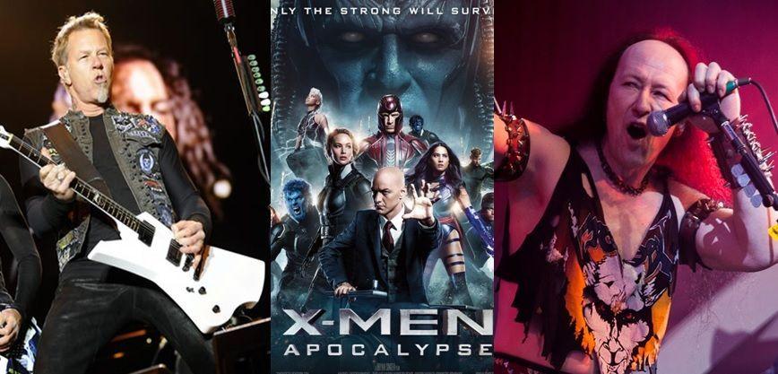 Metallica y Venom en Men Apocalipsis