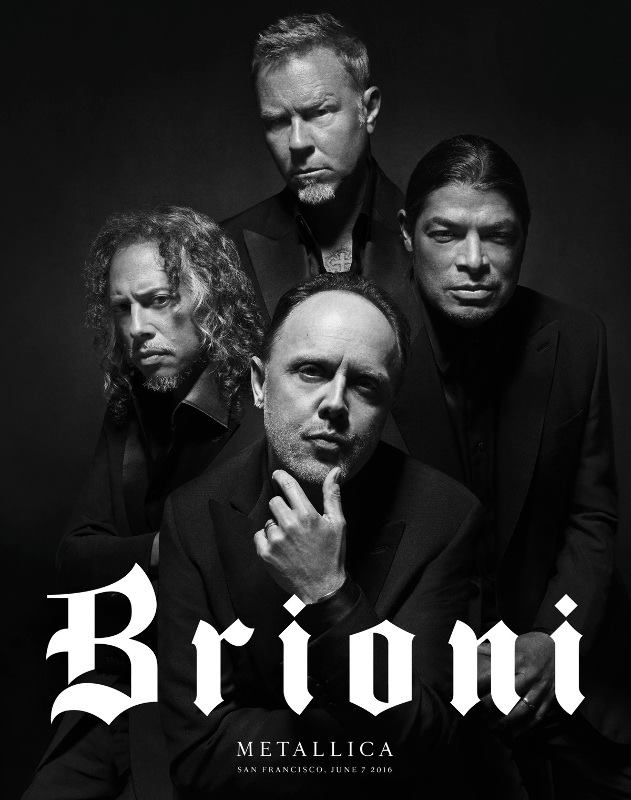 Metallica nueva cara de Brioni 1