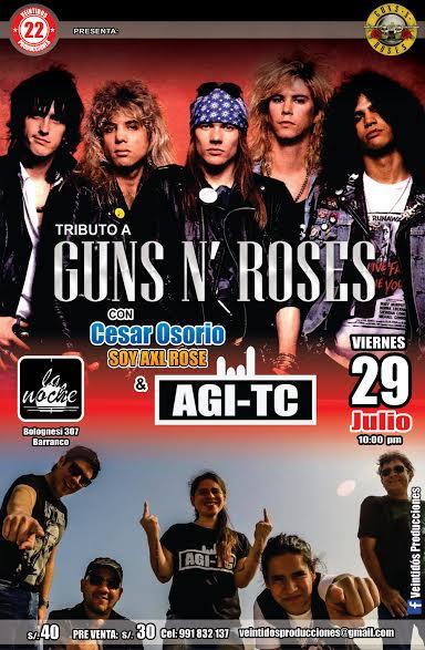 tributo guns n roses