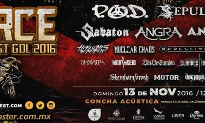 Force Metal Fest GDL 2016