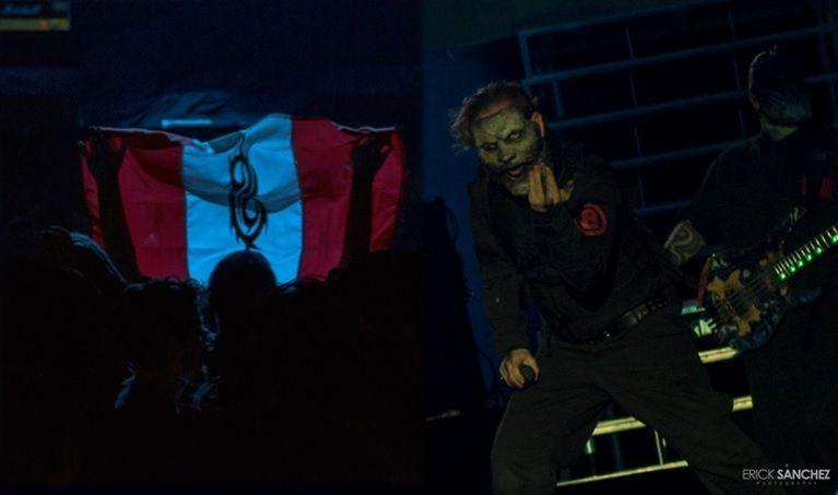 Slipknot en Lima 1