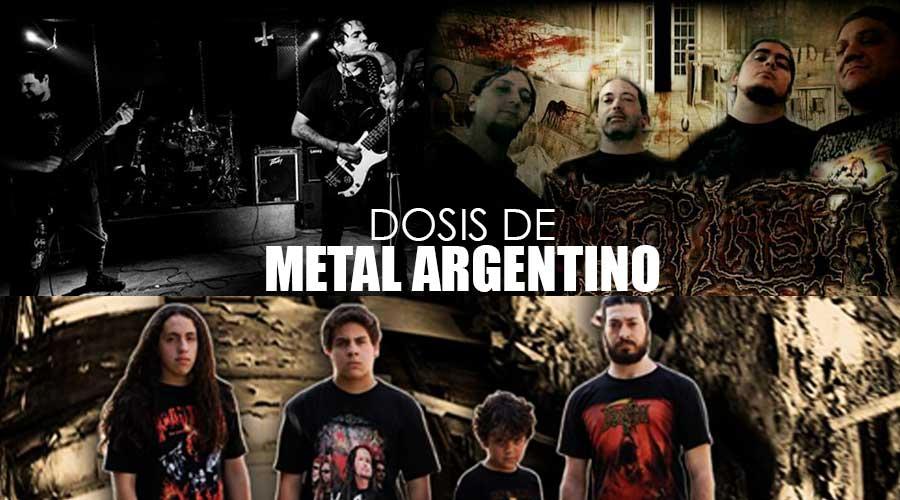 dosis de metal argentino