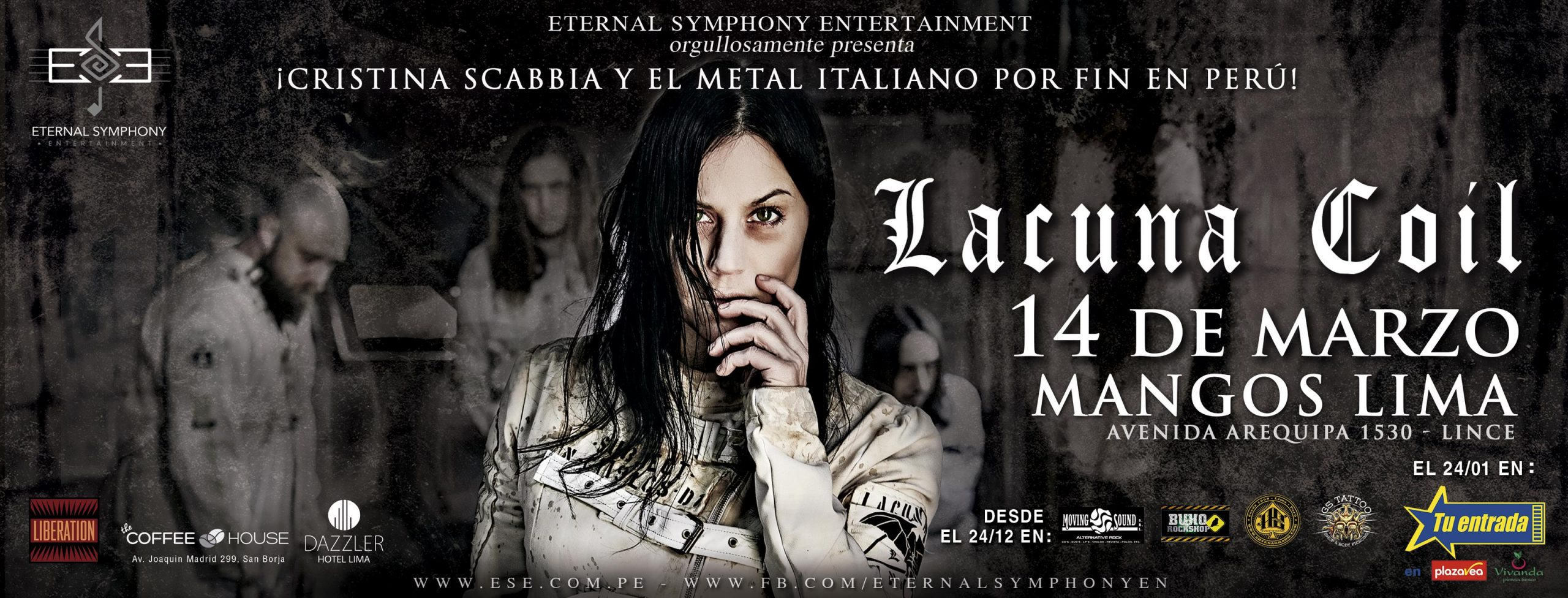 Lacuna Coil en Lima scaled