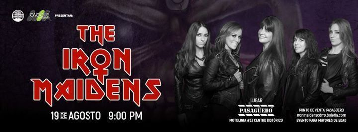 The Iron Maidens Pasaguero
