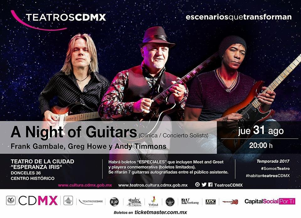 a night of guitars 1
